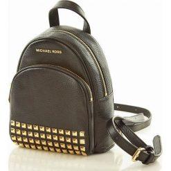 Plecak backpack Abbey MICHAEL KORS BLACK. Czarne plecaki damskie marki Michael Kors. Za 1299,00 zł.