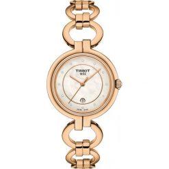 PROMOCJA ZEGAREK TISSOT T-Lady T094.210.33.116.01. Białe zegarki męskie TISSOT, ze stali. W wyprzedaży za 1540,00 zł.