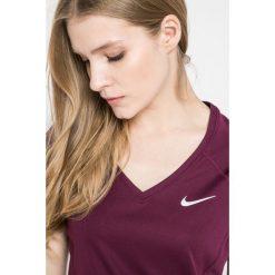 Nike - Top. Szare topy damskie marki Nike, s, z dzianiny, z krótkim rękawem. W wyprzedaży za 99,90 zł.