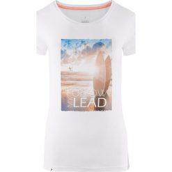 Outhorn Koszulka damska HOL18-TSD617 biała r. XS. Białe bluzki damskie Outhorn, xs. Za 24,99 zł.