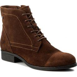 Botki LASOCKI - WI16-TRIO-03 Brązowy. Brązowe buty zimowe damskie Lasocki, ze skóry. Za 179,99 zł.