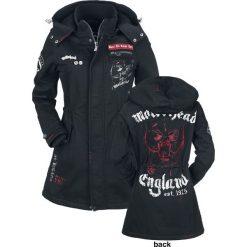 Motörhead EMP Signature Collection Kurtka damska czarny. Czarne bomberki damskie Motörhead, na zimę, m, z aplikacjami, z polaru. Za 599,90 zł.