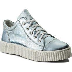 Sneakersy SERGIO BARDI - Bovalino SS127292118SW 124. Niebieskie sneakersy damskie Sergio Bardi, z nubiku. W wyprzedaży za 179,00 zł.