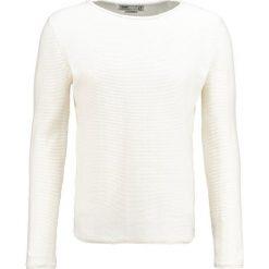 Swetry klasyczne męskie: Solid JARAH Sweter off white