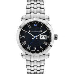 """Zegarki męskie: Zegarek kwarcowy """"Nestorius"""" w kolorze srebrno-czarnym"""