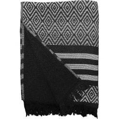 """Kąpielówki męskie: Fouta """"Alcati"""" w kolorze czarno-białym – 160 x 90 cm"""