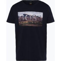 BOSS Casual - T-shirt męski – Teedog 1, niebieski. Niebieskie t-shirty męskie z nadrukiem BOSS Casual, m. Za 229,95 zł.