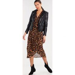 Długie sukienki: Bardot LEOPARD Długa sukienka black