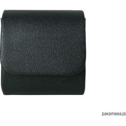 Puzderka: Mini kopertówka koperta MANZANA klasyczna czarna