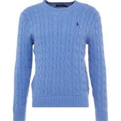 Polo Ralph Lauren Sweter deep blue heather. Szare swetry klasyczne męskie marki Polo Ralph Lauren, z bawełny. Za 629,00 zł.
