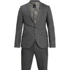 Shelby & Sons DUNFERMLINE SUIT SLIM FIT Garnitur mottled dark grey. Szare garnitury Shelby & Sons, z materiału. Za 839,00 zł.
