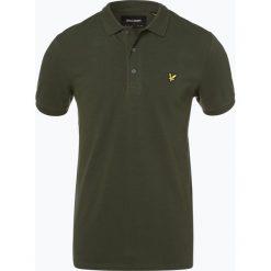 Koszulki polo: Lyle & Scott – Męska koszulka polo, zielony