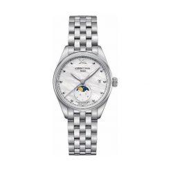 PROMOCJA ZEGAREK CERTINA DS 8 C033.257.11.118.00. Białe zegarki damskie CERTINA, pozłacane. W wyprzedaży za 1707,20 zł.