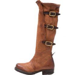A.S.98 Kowbojki i Buty motocyklowe castagna. Brązowe buty zimowe damskie marki A.S.98, z materiału. W wyprzedaży za 951,20 zł.