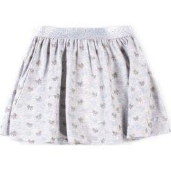 Coccodrillo - Spódnica dziecięca 92-122 cm. Białe minispódniczki marki COCCODRILLO, m, z bawełny, z okrągłym kołnierzem. Za 55,90 zł.