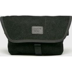 Caterpillar - Nerka Metro. Czarne walizki marki Caterpillar, w paski, z bawełny, małe. Za 119,90 zł.