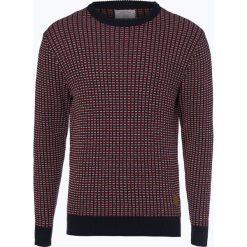 Jack & Jones - Sweter męski – Jorhills, czerwony. Czarne swetry klasyczne męskie marki Jack & Jones, l, z bawełny, z klasycznym kołnierzykiem, z długim rękawem. Za 179,95 zł.