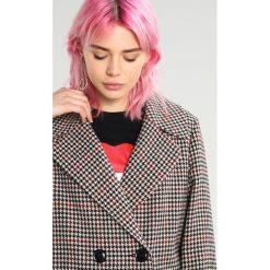 Miss Selfridge HERITAGE COAT Płaszcz wełniany /Płaszcz klasyczny black. Czarne płaszcze damskie pastelowe Miss Selfridge, z materiału, klasyczne. W wyprzedaży za 367,20 zł.