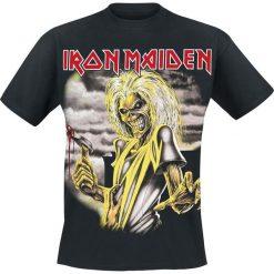 Iron Maiden Killers T-Shirt czarny. Czarne t-shirty męskie z nadrukiem Iron Maiden, xxl, z dekoltem na plecach. Za 89,90 zł.