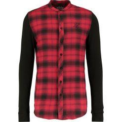 Koszule męskie na spinki: SIKSILK SIKSILK CONTRAST TARTAN Koszula red/black