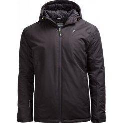 Kurtka narciarska męska KUMN600 - CZARNY - Outhorn. Czarne kurtki męskie pikowane marki Outhorn, na jesień, m, z materiału. W wyprzedaży za 160,99 zł.