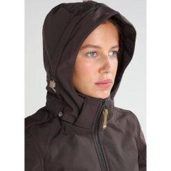 Icepeak TUULA Kurtka Softshell dark brown. Brązowe kurtki damskie Icepeak, z elastanu. W wyprzedaży za 251,40 zł.