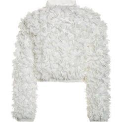 Patrizia Pepe MIT BLÜTEN Kurtka Bomber milk white. Białe kurtki chłopięce marki 4F JUNIOR, na lato, z materiału. W wyprzedaży za 503,40 zł.