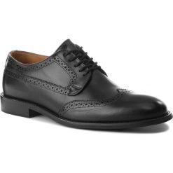 Półbuty BADURA - 7770 Czarny 147. Czarne buty wizytowe męskie Badura, z materiału. W wyprzedaży za 249,00 zł.