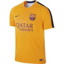 Nike Koszulka męska FC Barcelona Pre-Match Training żółta r. XL (686641 740). Żółte t-shirty męskie Nike, m. Za 95,91 zł.