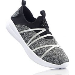 Buty sportowe damskie: Buty wsuwane sportowe Kappa bonprix czarno-biały