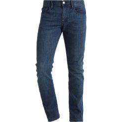 Armani Exchange Jeansy Slim Fit denim indigo. Niebieskie jeansy męskie relaxed fit Armani Exchange. Za 459,00 zł.