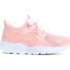 Różowe Buty Sportowe Asap. Czerwone buty sportowe dziewczęce marki Born2be, na lato, z materiału, z okrągłym noskiem. Za 34,99 zł.