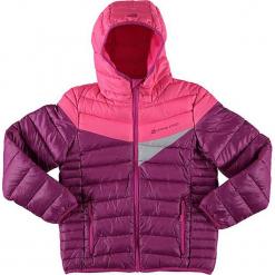 """Kurtka funkcyjna """"Sophio"""" w kolorze fioletowo-różowym. Czerwone kurtki dziewczęce przeciwdeszczowe marki Alpine Pro, z materiału. W wyprzedaży za 195,95 zł."""
