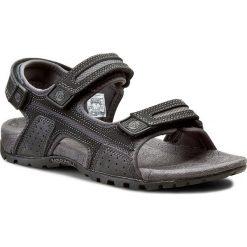 Sandały męskie skórzane: Sandały MERRELL - Sandspur Oak J276754C Black/Granite