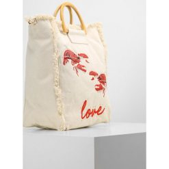 Shopper bag damskie: Topshop BOBBY LOBSTER SHOPPER Torba na zakupy natural