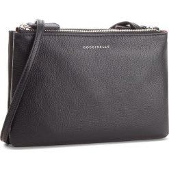 Torebka COCCINELLE - CV3 Mini Bag E5 CV3 55 F7 07 Noir 001. Czarne listonoszki damskie Coccinelle, ze skóry. W wyprzedaży za 489,00 zł.