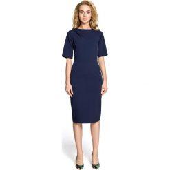 TALLIS Sukienka ołówkowa - granatowa. Niebieskie sukienki na komunię marki numoco, na imprezę, s, w kwiaty, z jeansu, sportowe, sportowe. Za 154,90 zł.