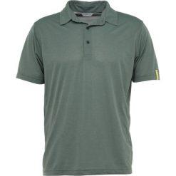 Koszulki sportowe męskie: Ziener CANOT MAN Koszulka polo green mud