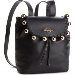 Plecak LOVE MOSCHINO - JC4078PP17LI0000 Nero. Czarne plecaki damskie Love Moschino, ze skóry ekologicznej. Za 959,00 zł.