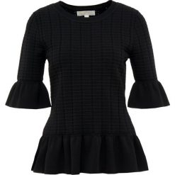 MICHAEL Michael Kors CREW Tshirt z nadrukiem black. Czarne t-shirty damskie MICHAEL Michael Kors, l, z nadrukiem, z materiału. Za 629,00 zł.