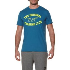 Asics Koszulka męska Sanded Top niebieska r. L (1250758123). Niebieskie koszulki sportowe męskie Asics, l. Za 87,54 zł.