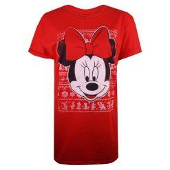 Christmas T-Shirt T-Shirt Damski Minnie Intarsia S Czerwony. Czerwone t-shirty damskie Christmas T-Shirt, s. W wyprzedaży za 64,90 zł.