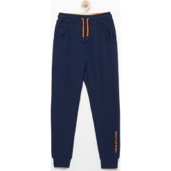 Dresy chłopięce: Spodnie dresowe – Granatowy