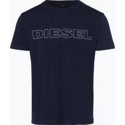 Diesel - T-shirt męski, niebieski. Niebieskie t-shirty męskie marki Diesel. Za 149,95 zł.