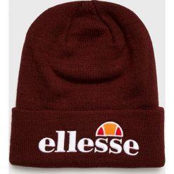 Ellesse - Czapka. Brązowe czapki zimowe męskie Ellesse, z dzianiny. W wyprzedaży za 79,90 zł.