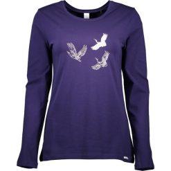 Piżamy damskie: Koszulka piżamowa w kolorze granatowym