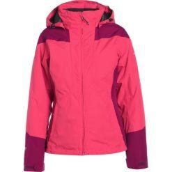 Icepeak LARA Kurtka przeciwdeszczowa cranberry. Fioletowe kurtki damskie turystyczne marki Icepeak, z materiału. W wyprzedaży za 293,30 zł.