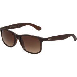 RayBan ANDY  Okulary przeciwsłoneczne braun. Brązowe okulary przeciwsłoneczne męskie aviatory Ray-Ban. Za 469,00 zł.