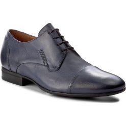 Półbuty GINO ROSSI - Porfirio MPC764-V48-KB00-5700-0 59. Niebieskie buty wizytowe męskie Gino Rossi, ze skóry. W wyprzedaży za 199,00 zł.