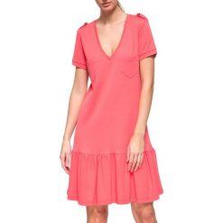Sukienki: Sukienka w kolorze koralowym